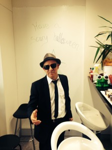 blues brothers in the office